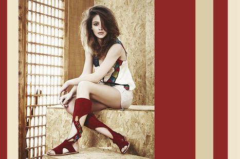 Women's etno-chic sandals, S/S 2015   Le Marche & Fashion   Scoop.it