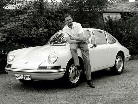 The Designer Of The Porsche 911 Has Died—Take A Look Back At His Iconic Creation | Design | Scoop.it