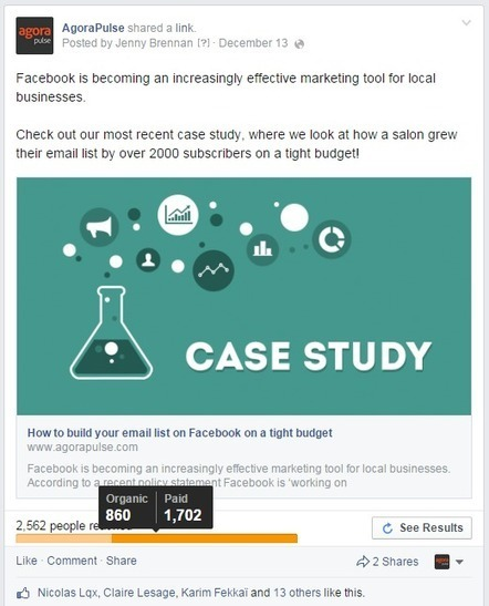 4 raisons de « Mettre en avant » vos publications Facebook | Veille Réseaux sociaux | Scoop.it