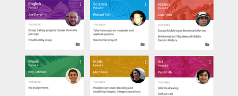 Google Announces New 'Classroom' Tools (EdSurge News) | GoingGoogle | Scoop.it