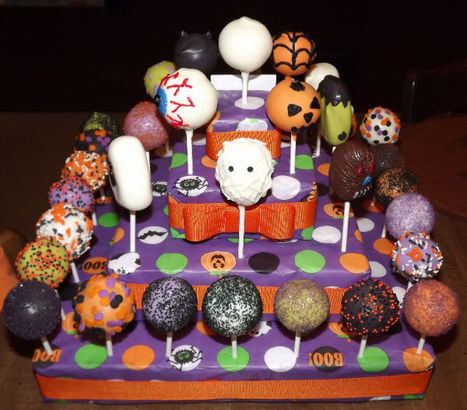 Halloween Cake Pops From The Pop Cakery! & #Giveaway #HalloweenGuide #Halloween | Cake pop e dintorni | Scoop.it