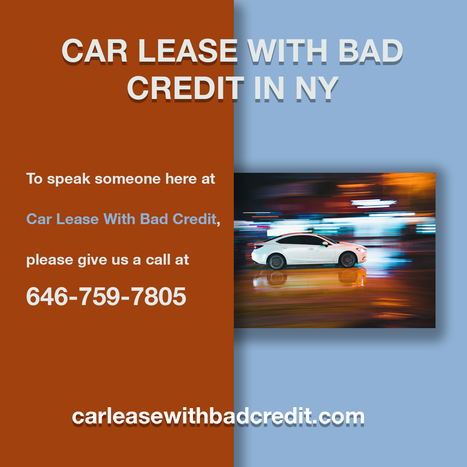 Lease With Bad Credit >> Car Lease With Bad Credit Offers Top Lease Deal