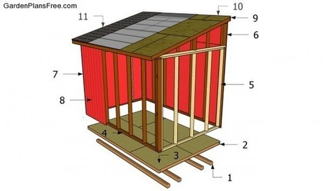 Lean To Shed Plans Free | Free Garden Plans - How to build garden projects | Shed | Scoop.it