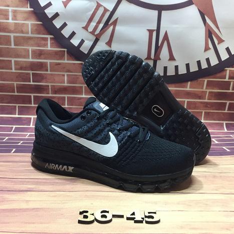 cheaper 74bbe 4613d Nike Air Max 2017 Black Grey Mesh Shoes  airmax2017-190  -  65.90
