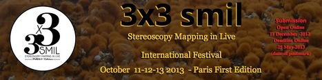 #Call - 3x3 SMIL, Stereoscopy Mapping In Live,First Edition,October 11-12-13 Paris 2013 | Digital #MediaArt(s) Numérique(s) | Scoop.it