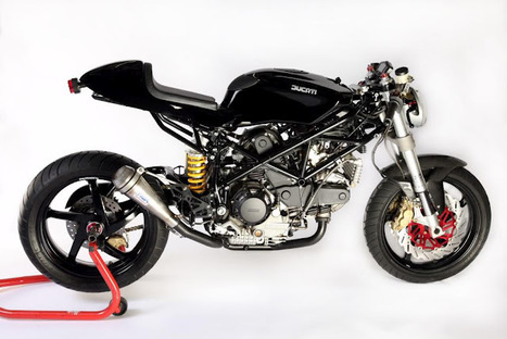 "RocketGarage Cafe Racer | Bexton Ducati  ""cafe fighter"" 