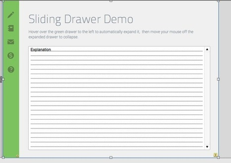 A Sliding Drawer that Opens and Closes on Mouse-Over | All things Filemaker  Go | Scoop.it