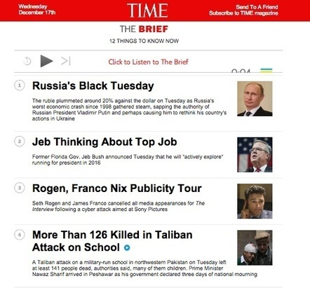 Awesome Curation: The Key To The TIME's Newsletter Amazing 40% Open Rate | Curation & The Future of Publishing | Scoop.it