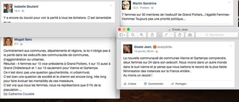 La parité grande perdante des fusions - Info-éco | Chatellerault, secouez-moi, secouez-moi! | Scoop.it
