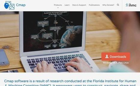 Cmap Tools. Outil gratuit pour créer des cartes conceptuelles – Les Outils Tice | Les outils du Web 2.0 | Scoop.it