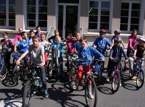Villefranche-de-Rouergue. La pédagogie passe  par le vélo | RoBot cyclotourisme | Scoop.it