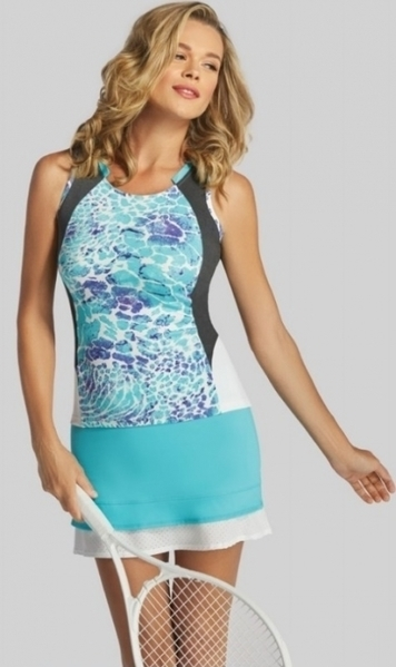 10e6bb78a4b Tail Ladies   Plus Size Tennis Outfits (Tank Tops   Skorts) - Glistening  Tide (Theresa Olivia)