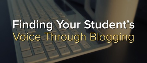Finding Your Student's Voice Through Blogging | Imagine Easy Solutions | Personalized and Personalizing Learning | Scoop.it