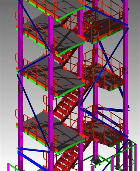 staircase detailing - | Architecture Building Information Modeling – BIM Services | Scoop.it