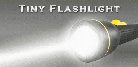Lampe de poche Tiny Flashlight - Android Market | Android Apps | Scoop.it