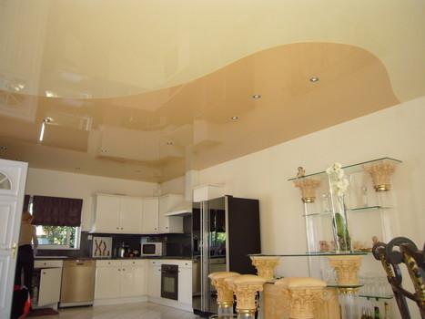 Plafond en platre style français | Faux ...