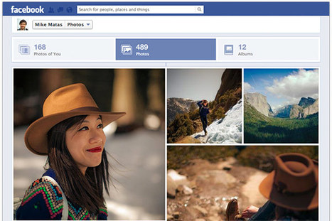 """Facebook improves photo viewing with larger images, takes cues from Google+   The """"New Facebook""""   Scoop.it"""