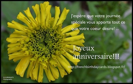Happy Birthday In French Images Wishes Quotes