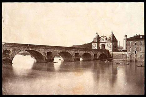 Le Pont-Neuf de Toulouse, comme vous ne l'avez jamais vu | Archives municipales de Toulouse | Scoop.it