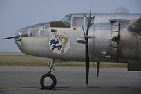 North American B-25J Mitchell, Photo Fanny, Cockpit and Nose Art, Chino | WW2 Bomber - Nose Art | Scoop.it