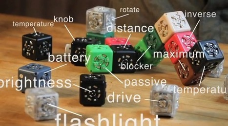 Cubelets make for 'robotic good times' - CNET | Robots and Robotics | Scoop.it