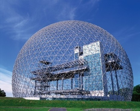 Spheres Of Influence: Rotund Structures Inspired By The Geodesic Dome   Awe of the universe   Scoop.it