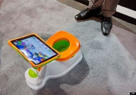 iPotty tries to get your toddler to use the toilet - SlashGear | All Technology Buzz | Scoop.it