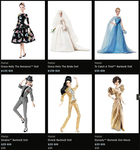Barbie Collector: Hollywood Icon Sale at Gilt | Take Five a Day | Fashion Dolls | Scoop.it