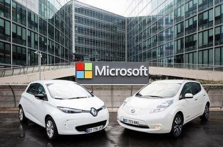 Renault-Nissan will allow Microsoft to plug cars into the cloud | IVI-snews | Scoop.it