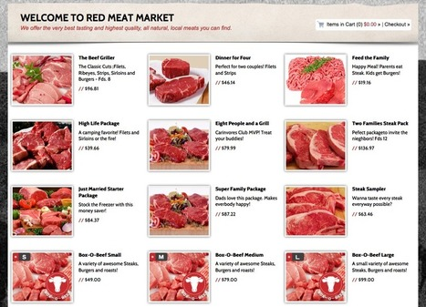 Red Meat Market Tackles Local Meat Distribution, Aims to Make it Fun | Food+Tech Connect | Food+Tech | Scoop.it