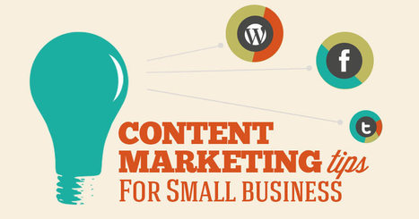 Top 10 Content Marketing Tips For small business | Business 2 Community | #ContentMarketing | Scoop.it