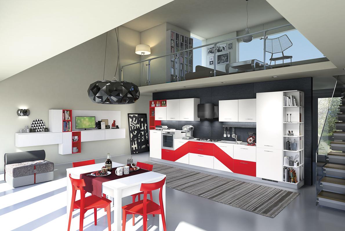 Madeinmarche kitchens vismap cucine treia for Arredamenti appignano