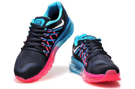Nike Runnings Air Max 2015 Black Red Blue 36 39