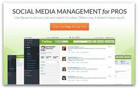 Social Media Manager Tools For 2014 | Utilising Social Media | Scoop.it