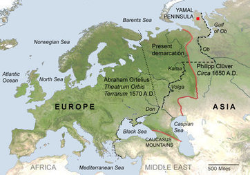 Where Is Europe? | The Geography Classroom | Scoop.it