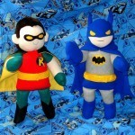 Holy Plush Batman!… and Robin!   All Geeks   Scoop.it