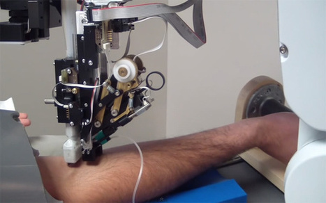Veebot, the Robotic Phlebotomist That Makes Drawing Blood Faster (VIDEO) | E-Learning and Science Education | Scoop.it