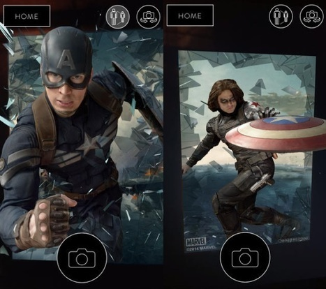 The Captain America Experience Augmented Reality App Now Available | Comicbook.com | Transmedia online | Scoop.it
