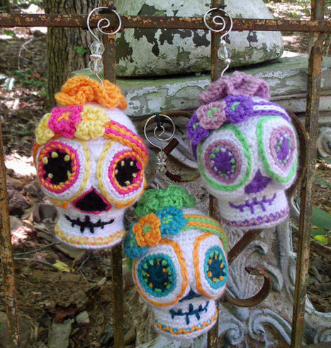 Sugar Skull Crochet Pattern Amigurumi Day Of Th