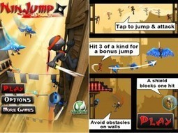 NinJump Android Game Apps to Explore Ninja Skills | Free Download Buzz | All Games | Scoop.it