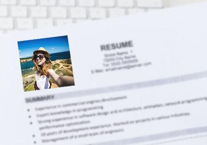 Selfies on CVs ruining bankers' job chances | Career Advice | Scoop.it