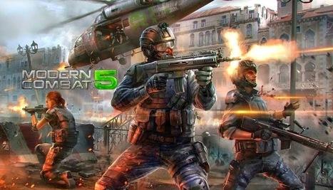 modern combat 5 free apk