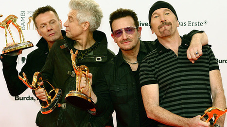 U2 plays NYC subway to prep for 'Tonight Show' return - Zap2it.com (blog) | HarlemHCL | Scoop.it