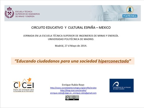 Educando ciudadanos para una sociedad hiperconectada | Blog de Enrique Rubio | La brecha de la complejidad | Scoop.it