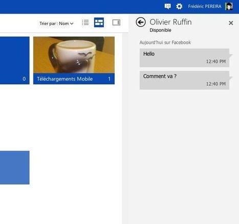 SkyDrive s'aligne sur Outlook.com !   SocialWebBusiness   Scoop.it