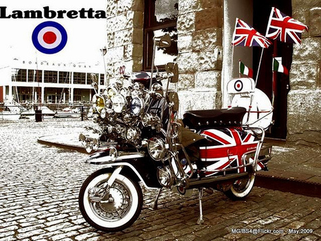 Union flag scoot   The march of the Mods   Scoop.it