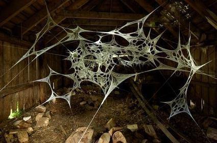 "Shane Waltener: ""A World Wide Web"" | Art Installations, Sculpture, Contemporary Art | Scoop.it"