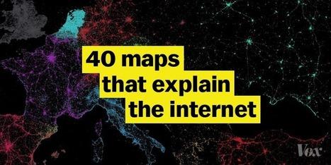 40 Maps That Explain The Internet | omnia mea mecum fero | Scoop.it