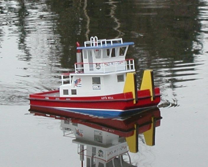 Mel's Scale Model Boat Fleet | Springer Tugs