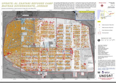 Syria's refugees – satellite mapping the scale of the crisis. | martinplaut | Innovative Mapping | Scoop.it